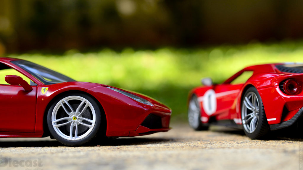 Ford vs Ferrari - Photoshoot