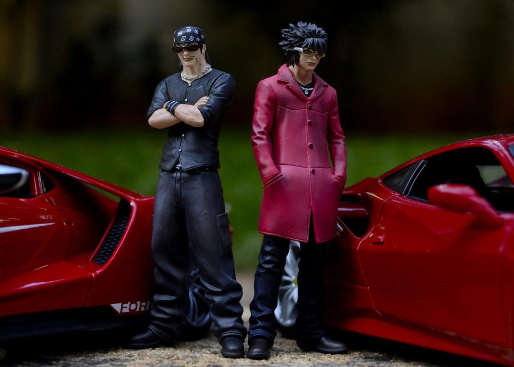 Ford vs Ferrari - Toy Photoshoot