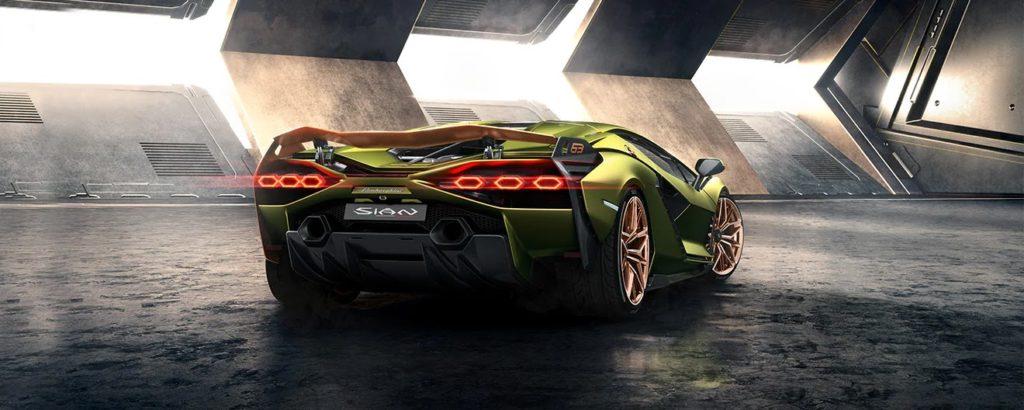 Lamborghini Sian FKP 37 - Rear