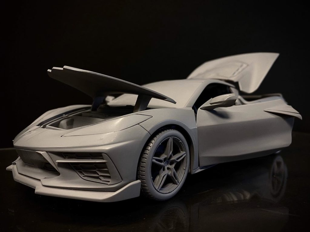 Maisto 1:18 Scale 2020 Chevrolet Corvette Stingray - Prototype