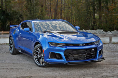 1:18 scale AUTOart Chevrolet Camaro ZL1 2017 Coming this August