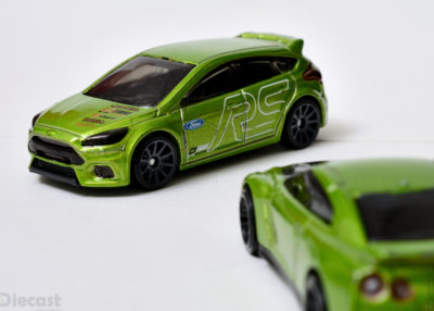Custom Detailed Hot Wheels Ford Focus RS