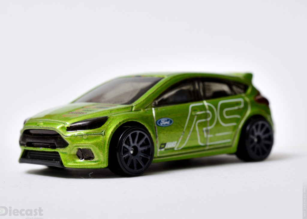 Hotwheels Ford Focus RS - Front