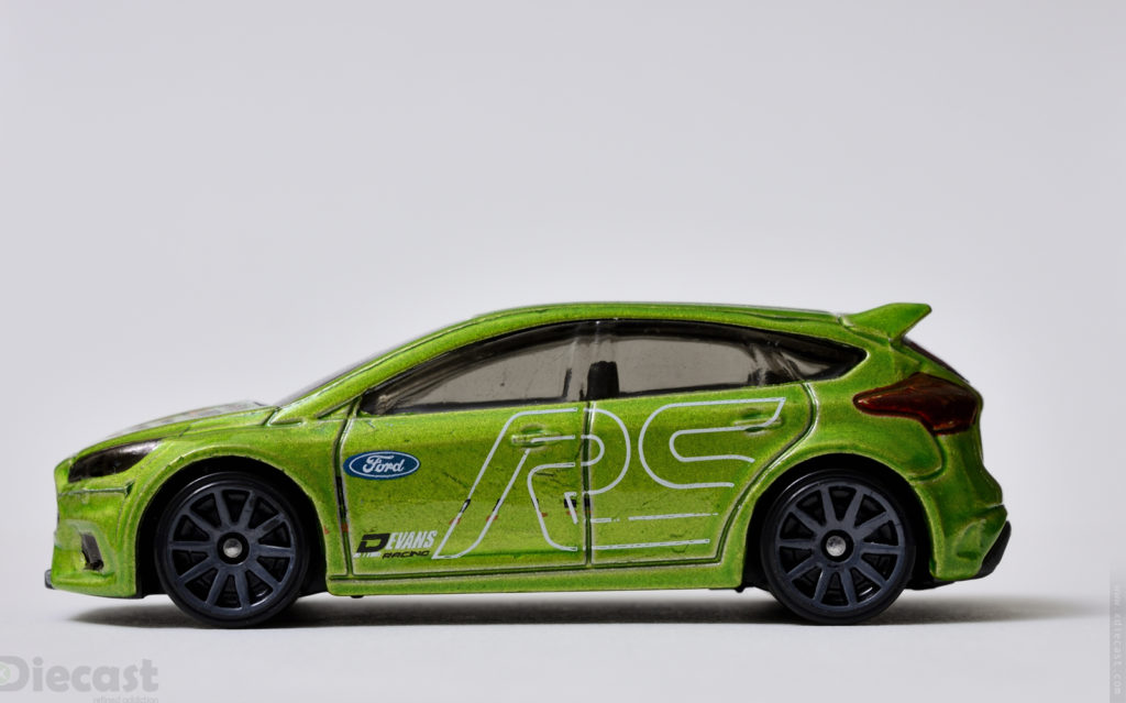 Hotwheels Ford Focus RS - Profile