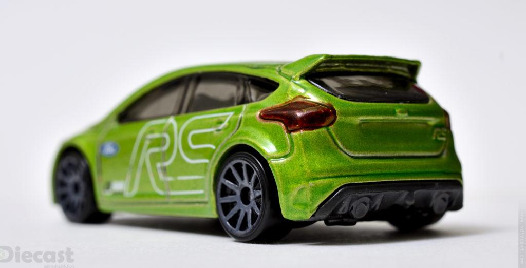 Hotwheels Ford Focus RS - Rear