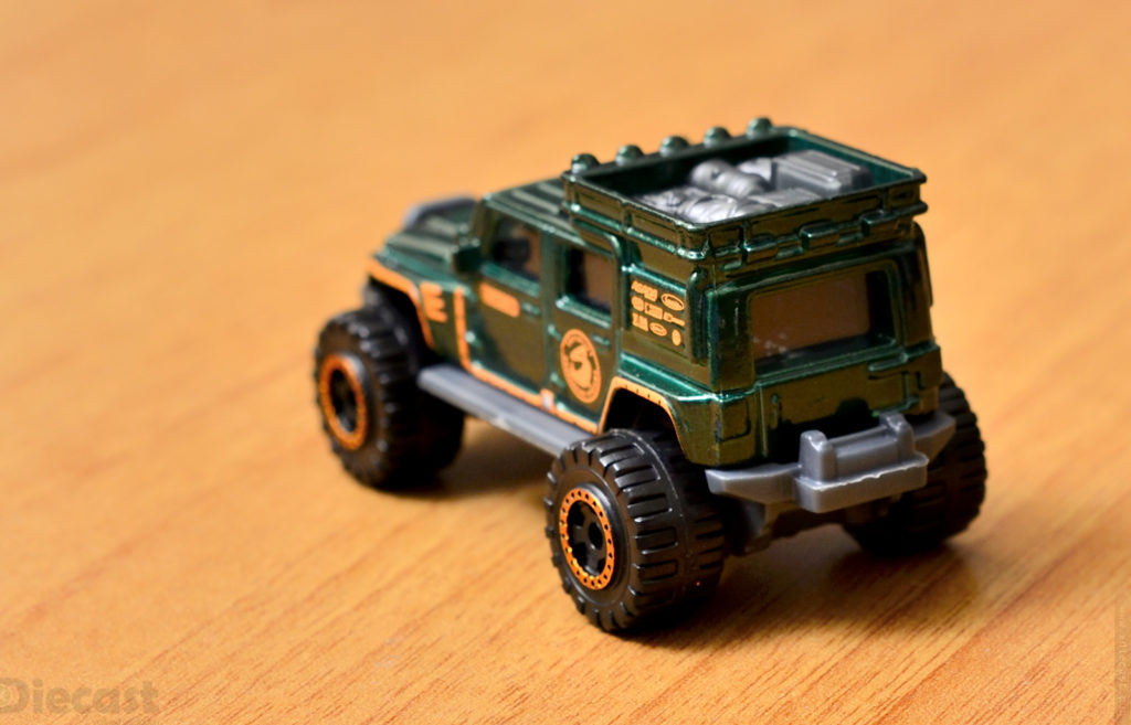 Jeep Wrangler Superlift - Matchbox