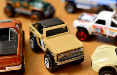 Lifted Trucks by Hot Wheels and Matchbox