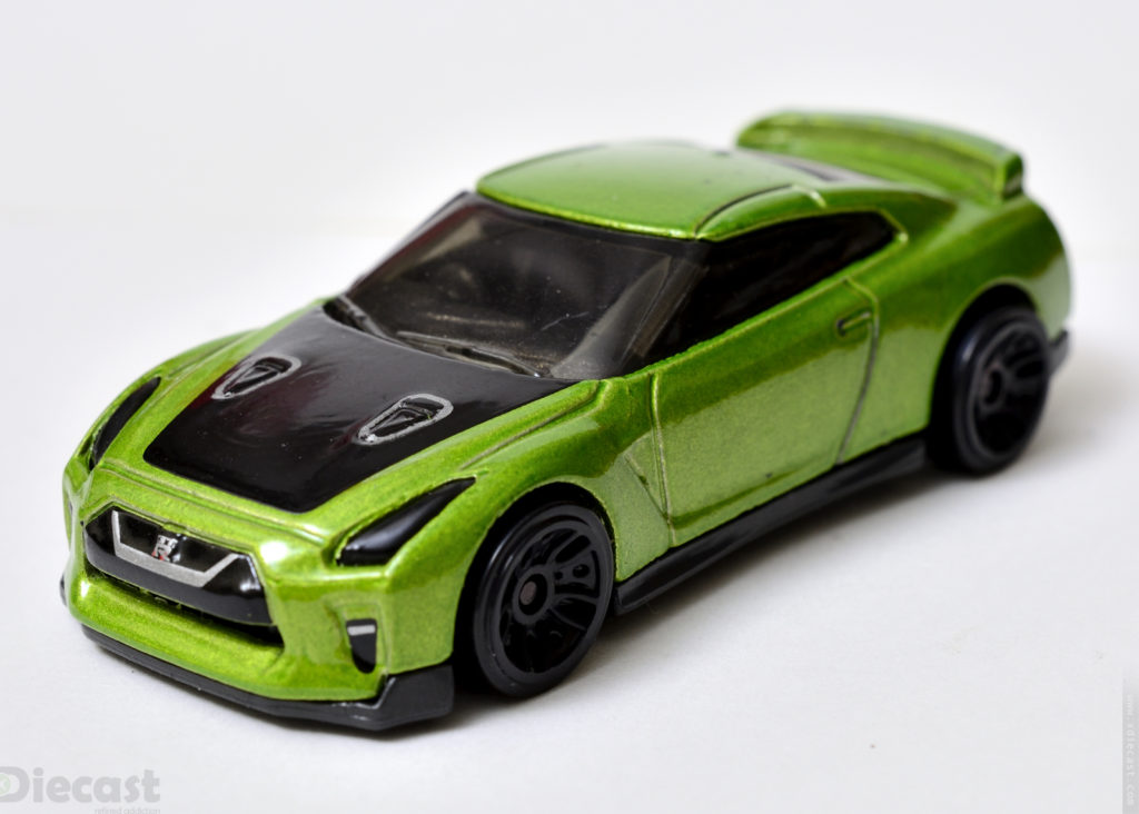 Custom Hotwheels Nissan GT-R (R35) - Front