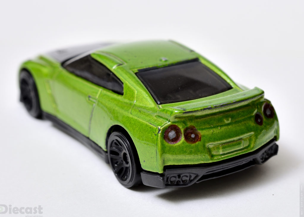 Custom Hotwheels Nissan GT-R (R35) - Rear