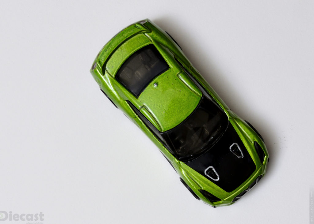 Custom Hotwheels Nissan GT-R (R35) - Top View