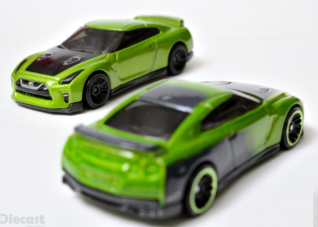 Custom Hotwheels Nissan GT-R (R35) vs Original R35