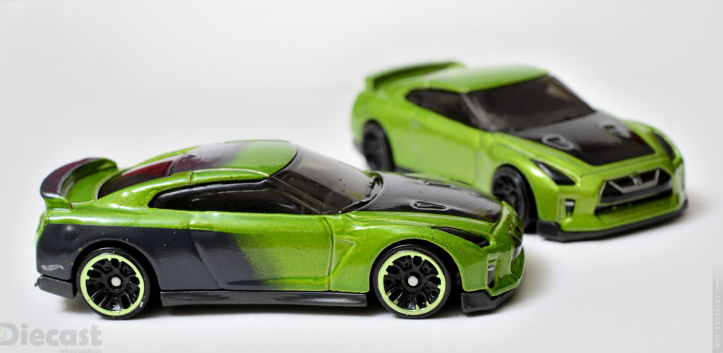 Custom Hotwheels Nissan GT-R (R35) vs Original