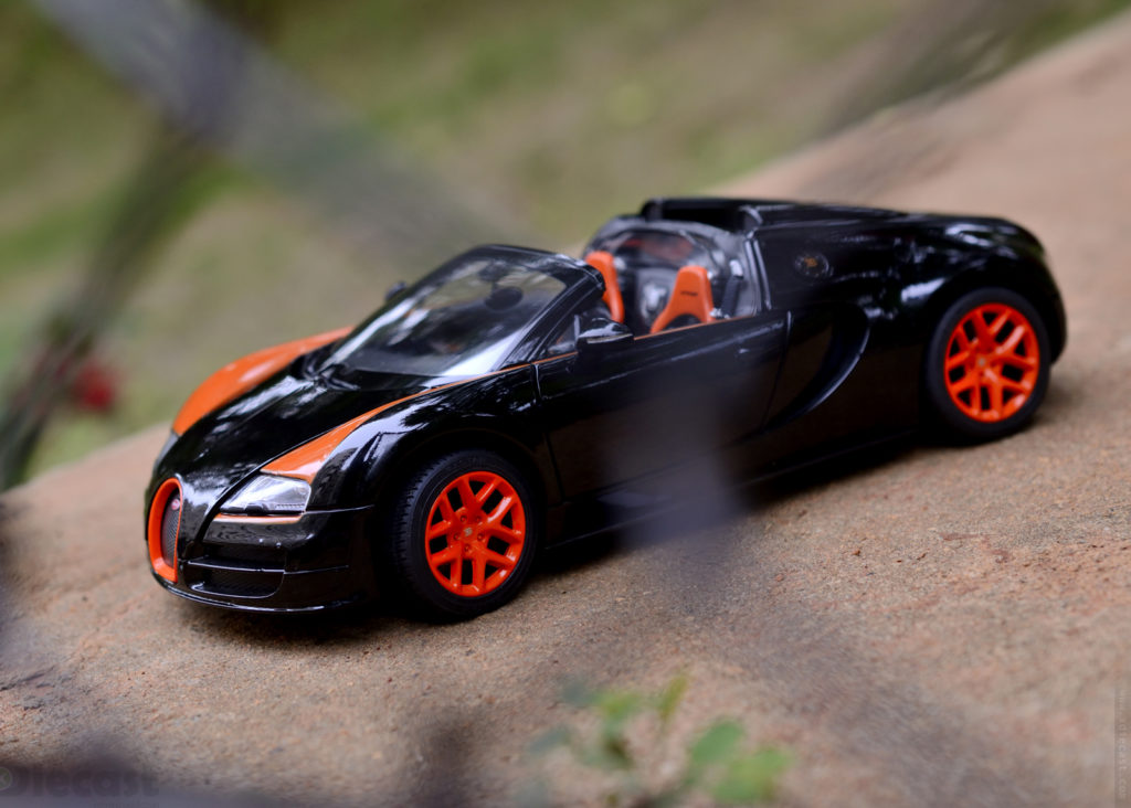 Rastar Bugatti Veyron 16.4 Grand Sport Vitesse – Diecast Car Review