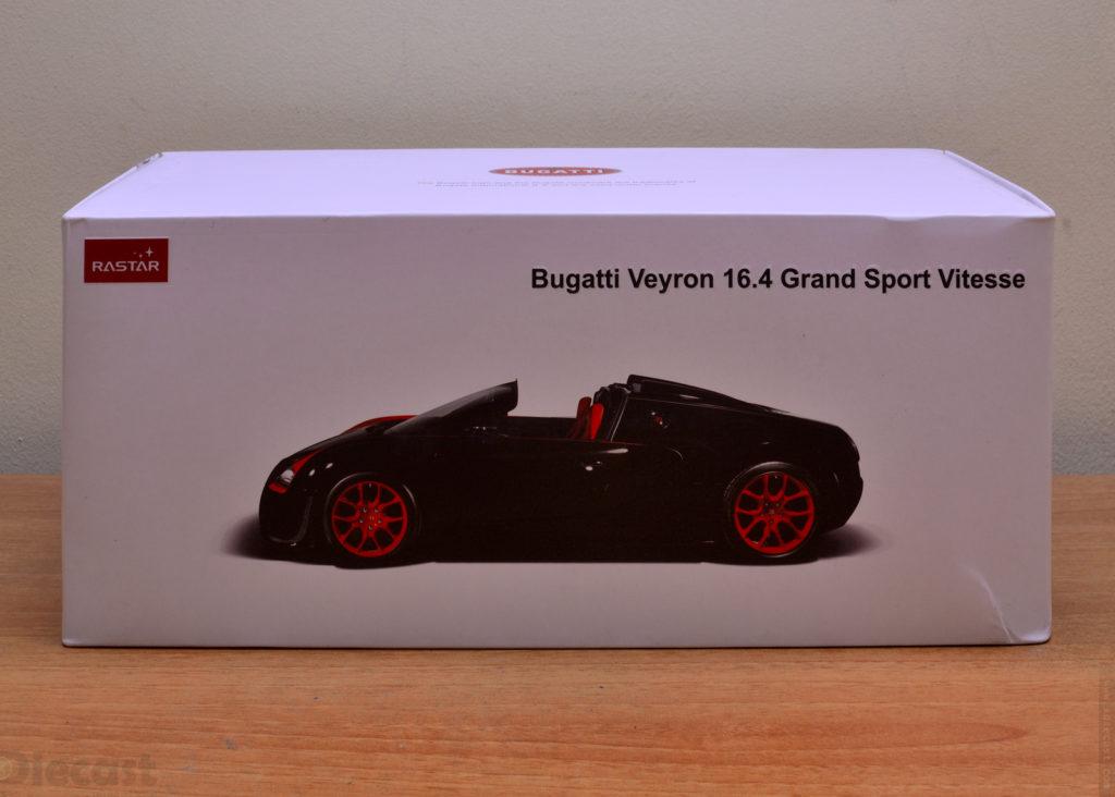 Rastar Bugatti Veyron Grand Sport Vitesse - Box
