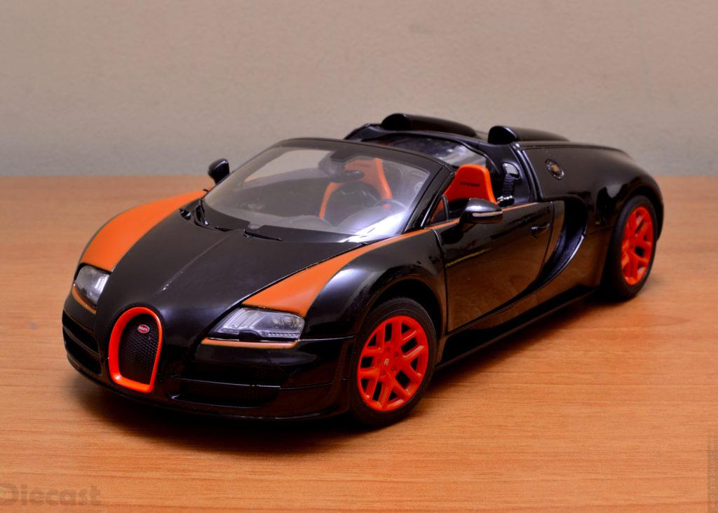 Rastar Bugatti Veyron Grand Sport Vitesse - Front 3/4