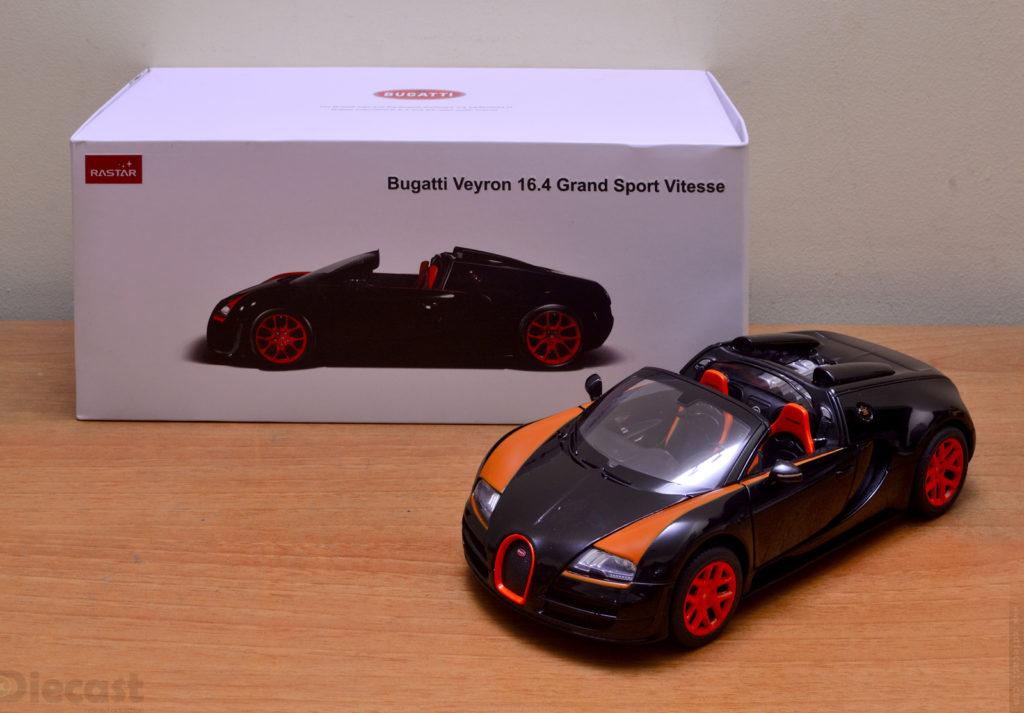 Rastar Bugatti Veyron Grand Sport Vitesse - Unboxed
