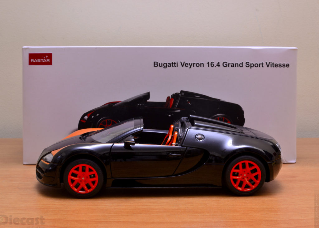 Rastar 1:18 Bugatti Veyron 16.4 Grand Sport Vitesse – Unboxed