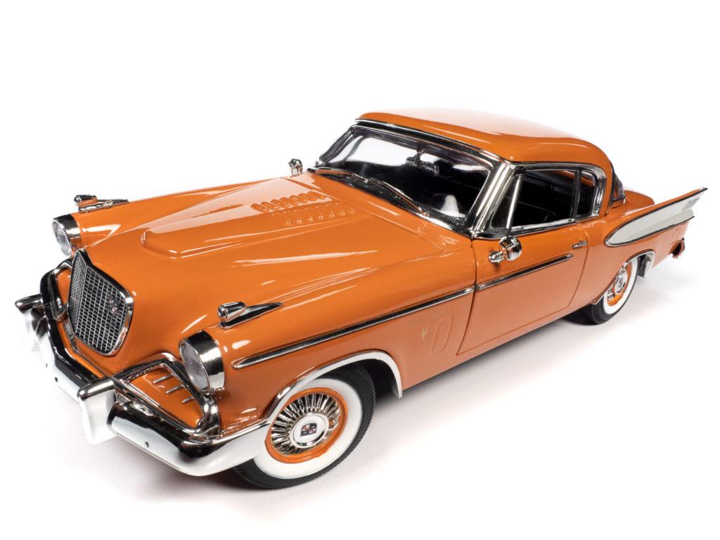 Auto World 1:18 scale 1957 Studebaker Golden Hawk - Front