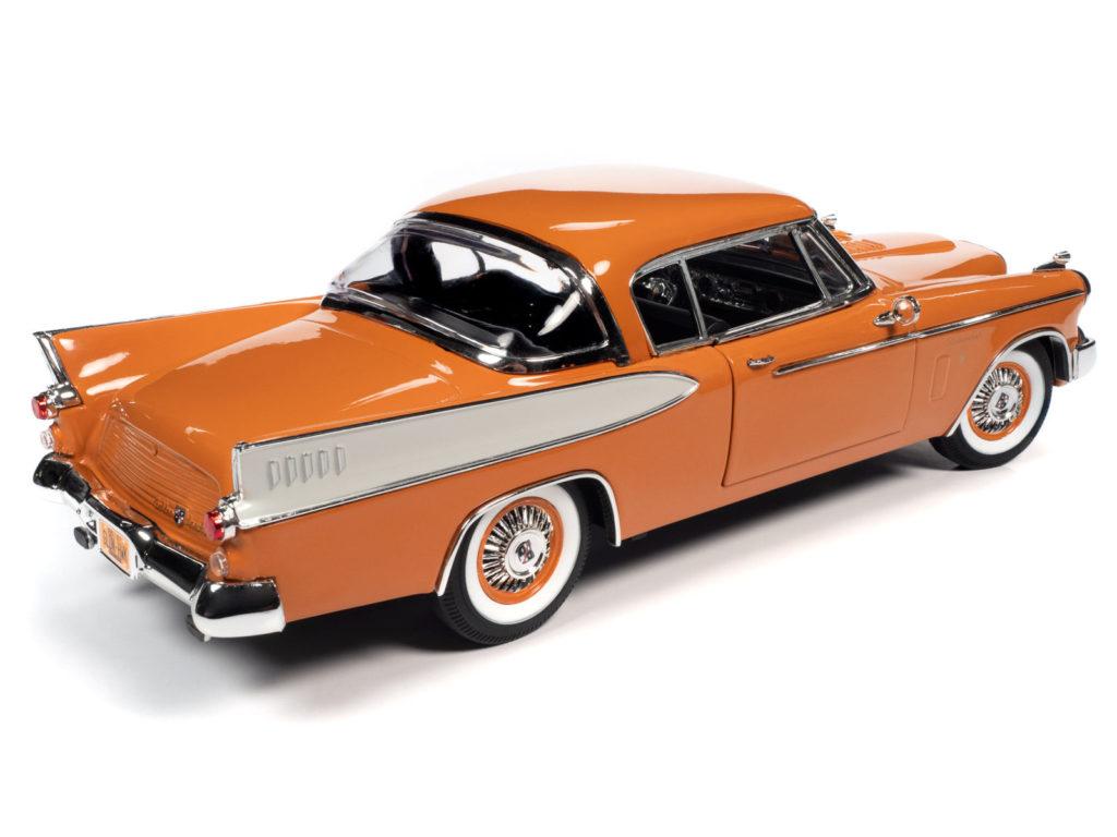 Auto World 1:18 scale 1957 Studebaker Golden Hawk - Rear
