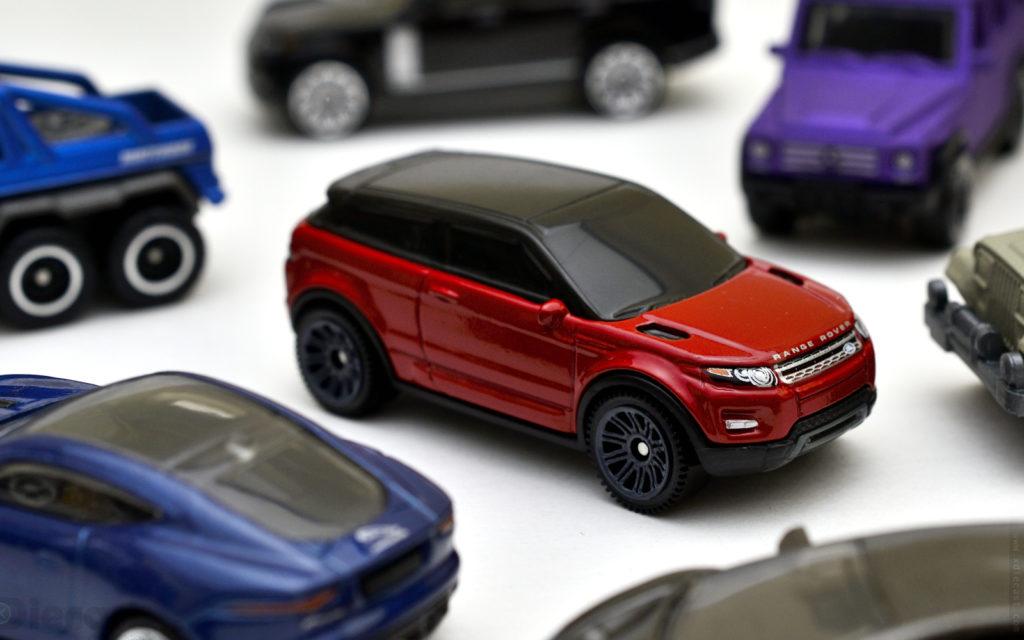 Matchbox: 2014 Range Rover Evoque