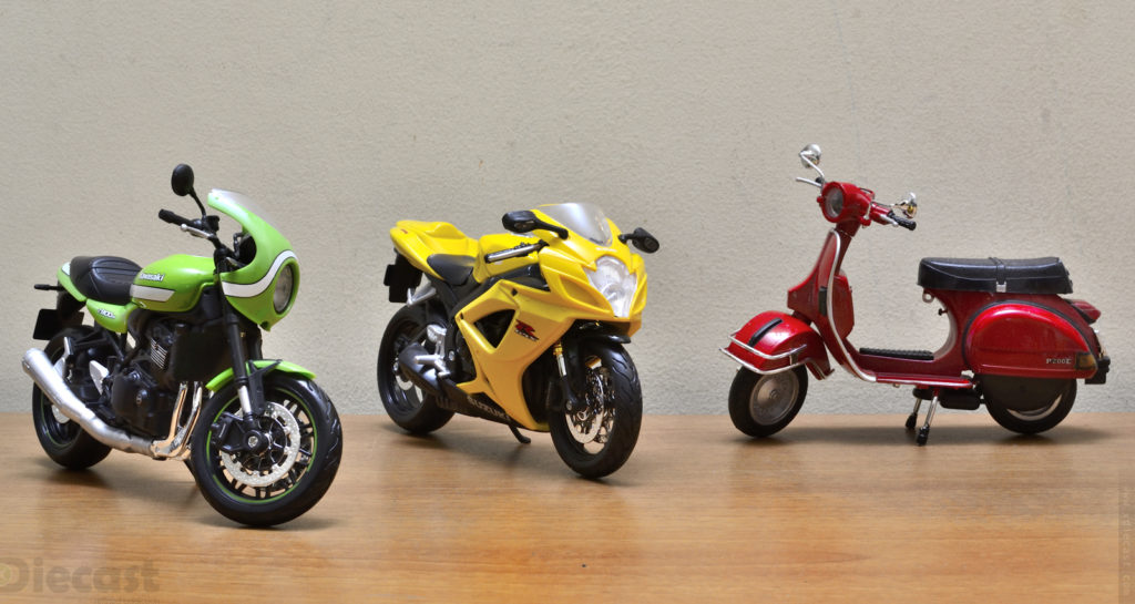 Diecast Motorbike Collection of the Year 2020
