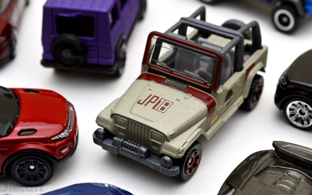 Matchbox: Jeep Wrangler Rollbar Jurassic Park 18