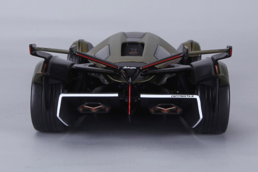 Maisto 1:18 Lamborghini V12 Vision Gran Turismo - Rear