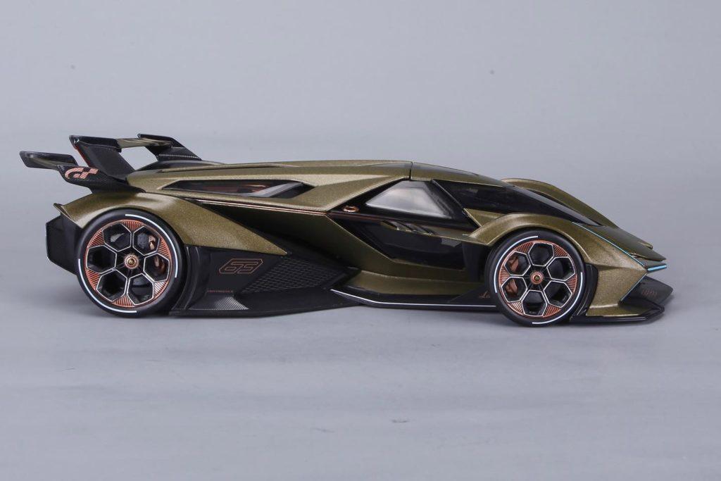 Maisto 1:18 Lamborghini V12 Vision Gran Turismo - Profile