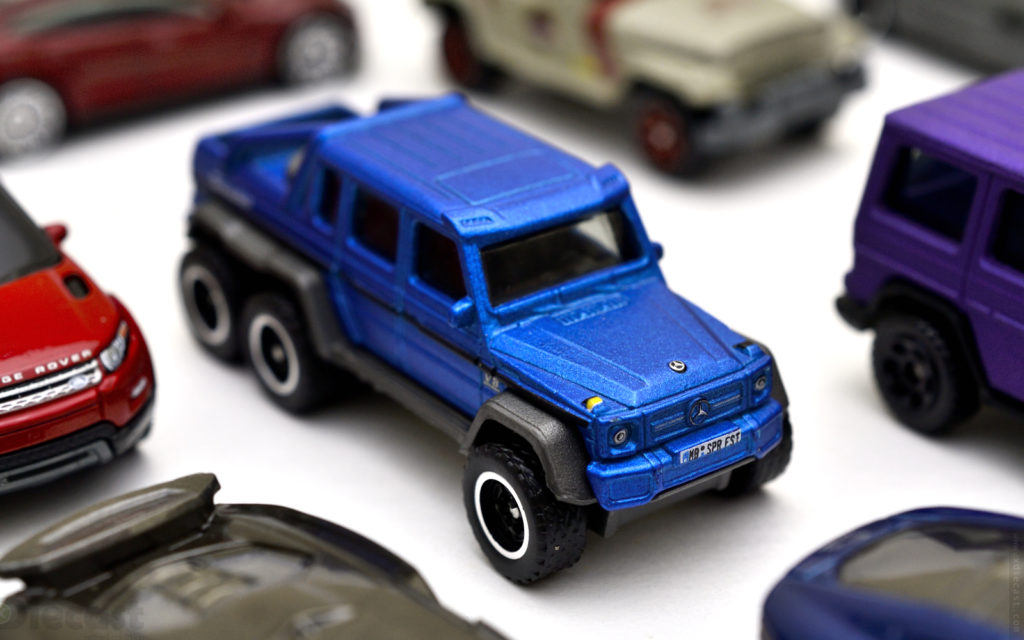 Matchbox: Superfast - Mercedes Benz G63 AMG 6X6