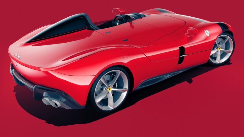 Ferrari Monza SP1 - Rear