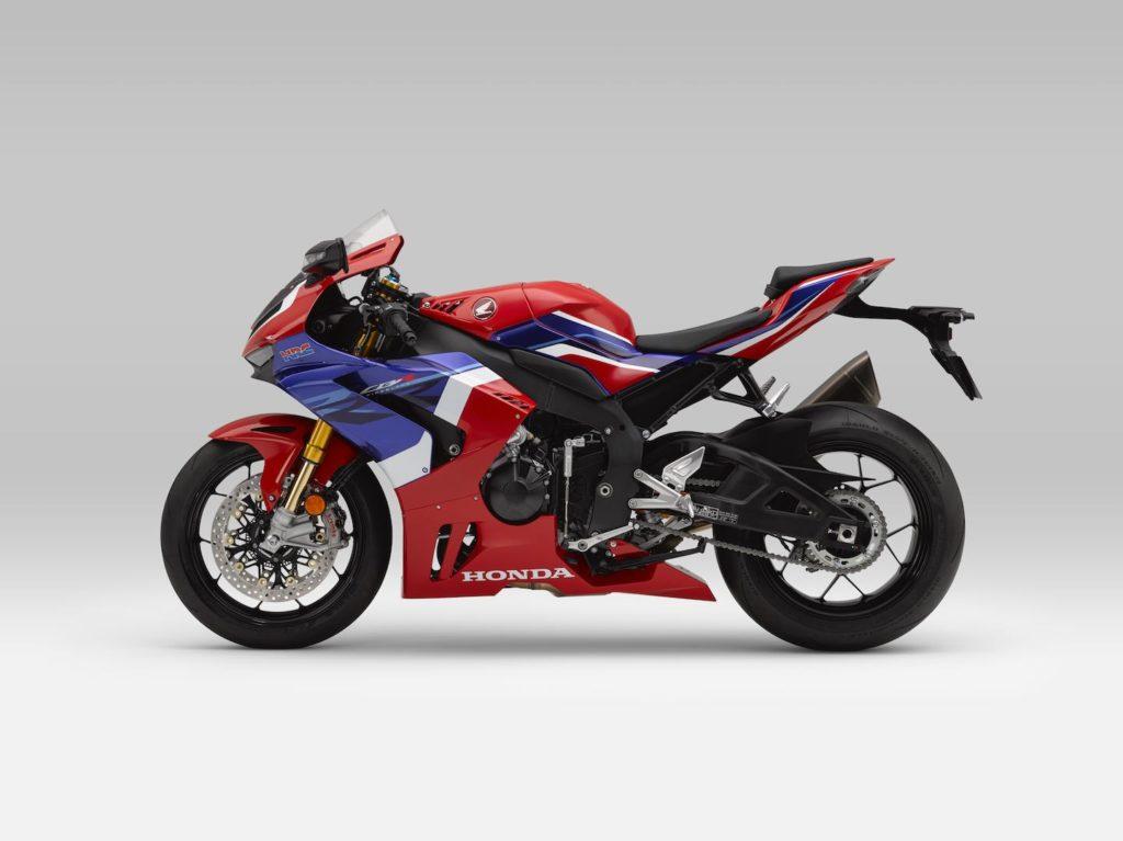2021 Honda CBR 1000RR R Fireblade SP - Profile