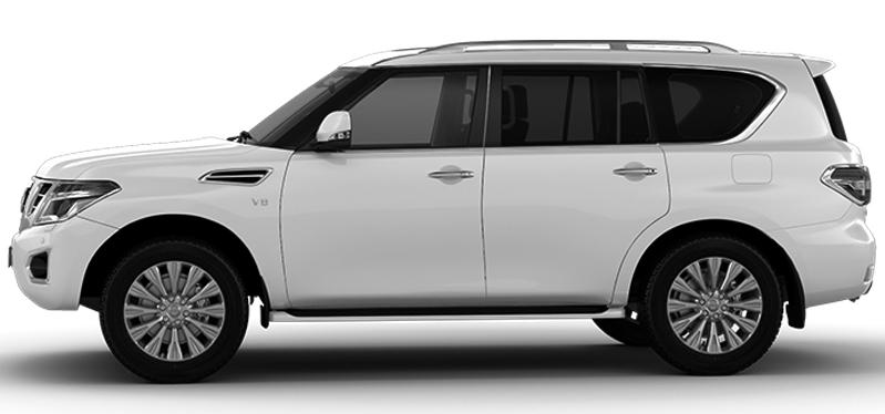 Paudi  2018 Nissan Patrol 5.6L - Profile