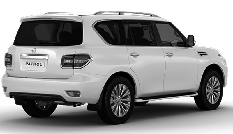 Paudi  2018 Nissan Patrol 5.6L - Rear