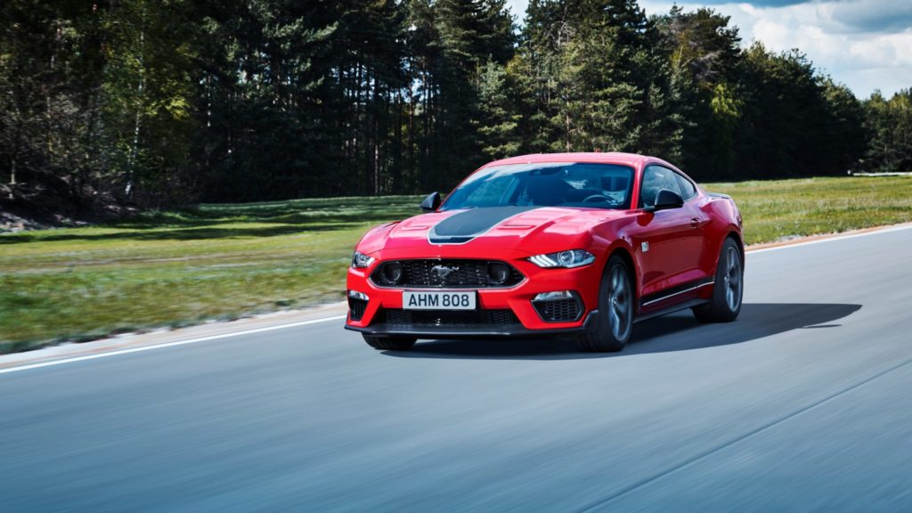 GT Spirit to Unleash 2021 Ford Mustang Mach-1 in 1:18 Scale