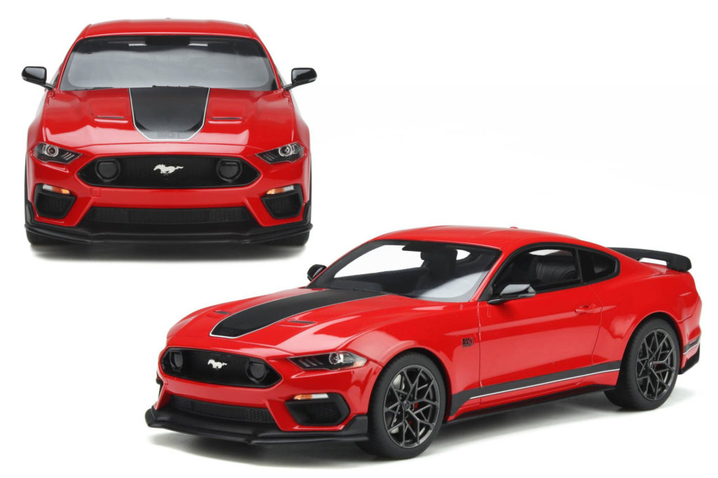 GT Spirit Ford Mustang Mach1 - Front View