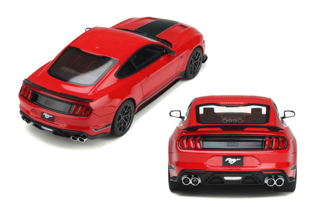 GT Spirit Ford Mustang Mach1 - Rear View