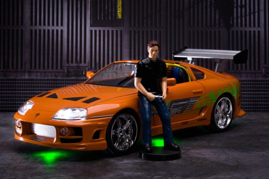 Jada NextLevel 1:18 Brian's Toyota Supra with Figure