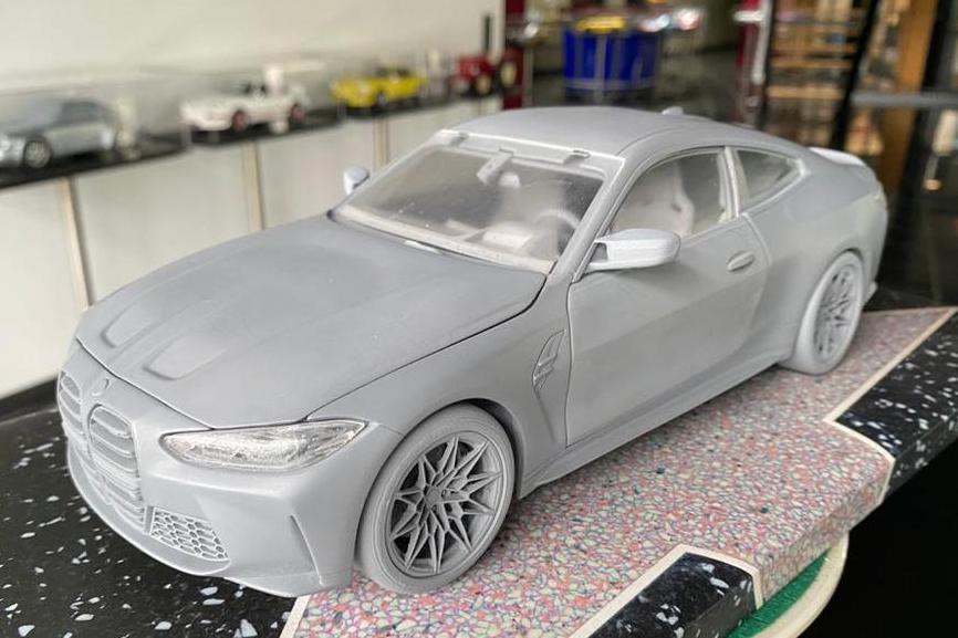 1:18 Minichamps BMW M4 2021 - Front