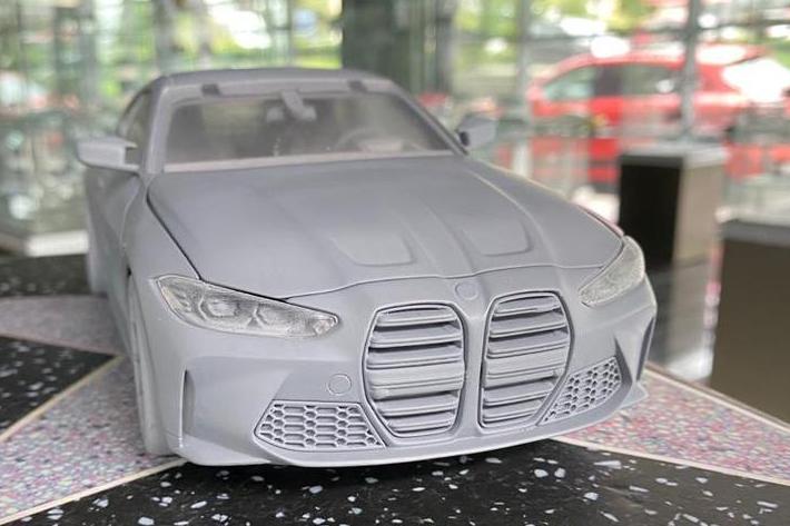 1:18 Minichamps BMW M4 2021 - Preproduction Sample