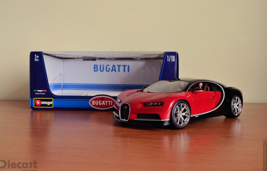 Bburago 1:18 Bugatti Chiron – Unboxed