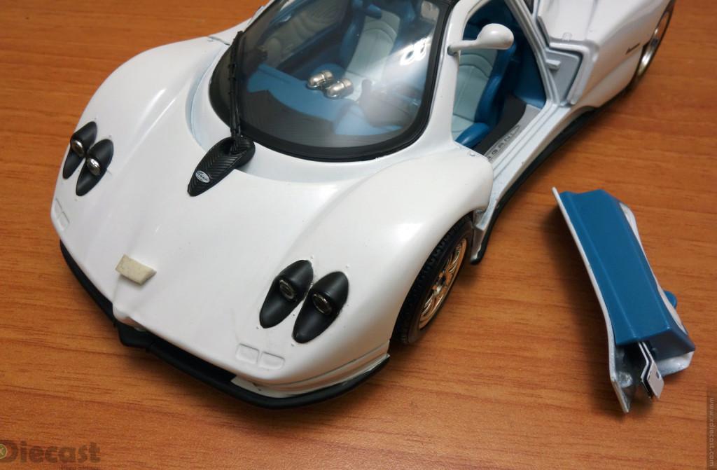 My Motormax Pagani Zonda C12 – Crashed
