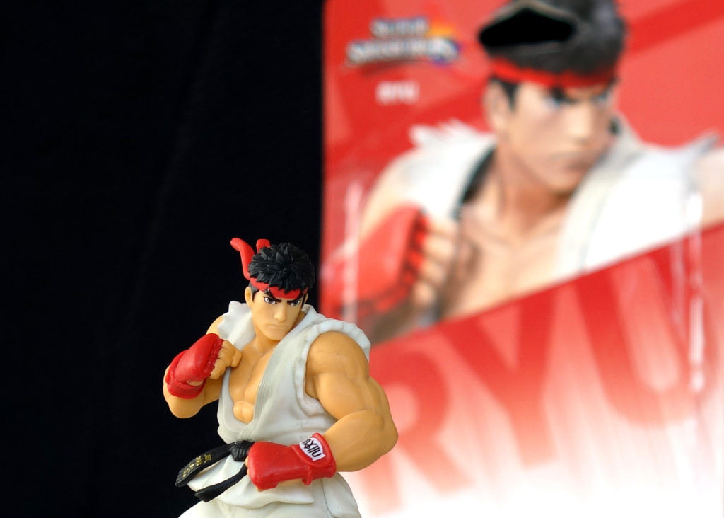 Nintendo Amiibo Super Smash Bros Series Figure RYU – Unboxed