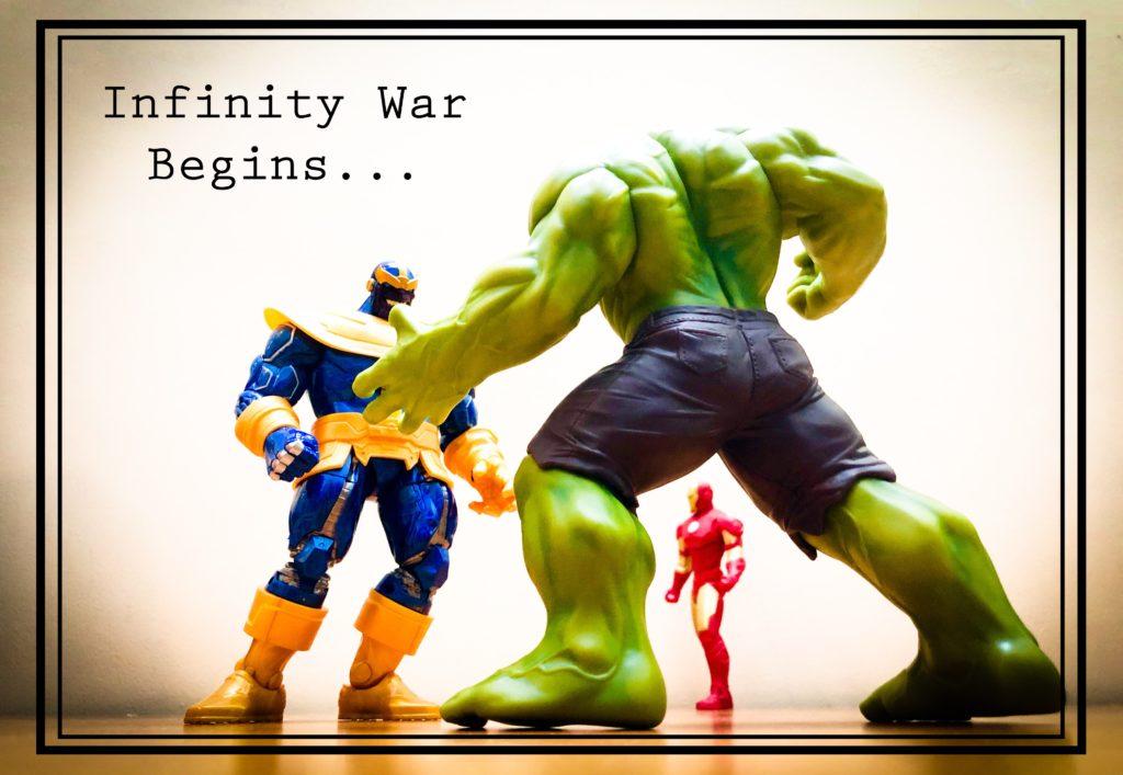 Avengers Infinity War – Figurine Photo Shoot