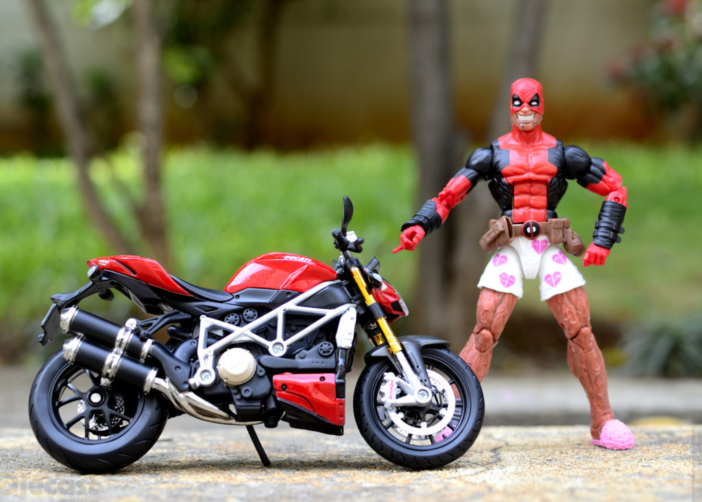 Deadpool Upgrades his Vespa for a Ducati Streetfighter