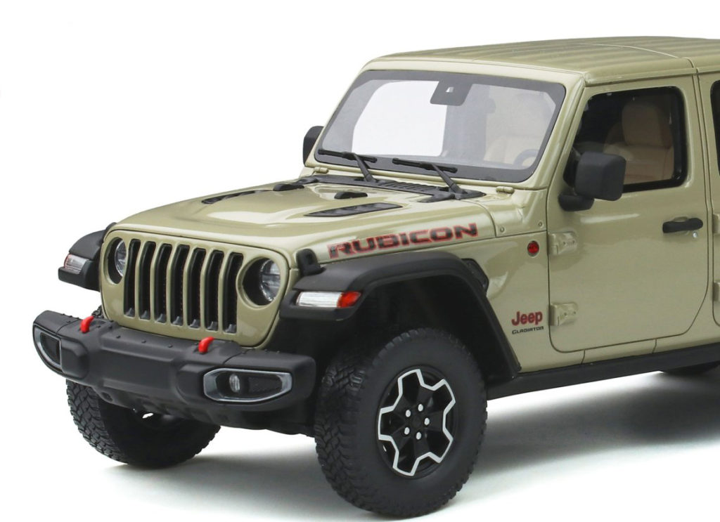 GT Spirit - Jeep Gladiator Rubicon - Front