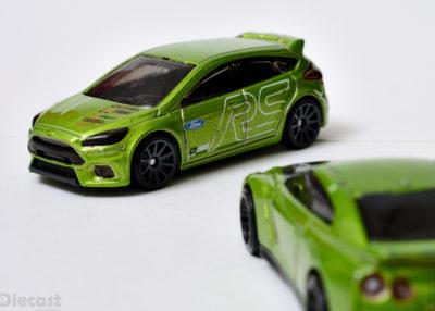 Custom Detailed Hot Wheels Ford Focus RS
